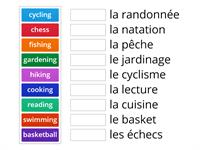 French hobbies