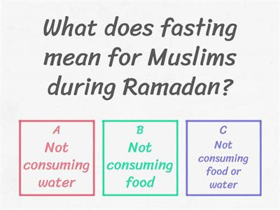Test your Ramadan knowledge