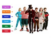 Copy of Charlie & the Chocolate Factory - characters