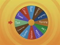 Vocabulary Choice Wheel