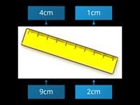 Simple measurement with ruler