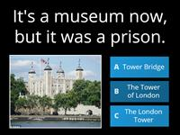 A quiz about London