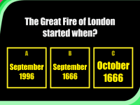 Fire of London Quiz