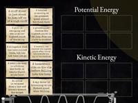Potential or Kinetic Energy Sort
