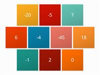 Ordering Number Tiles