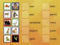 Los animales KS2 & 3