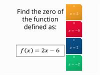 Functions for 9 graders