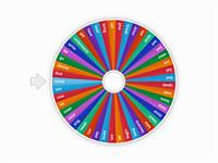 English irregular verbs wheel