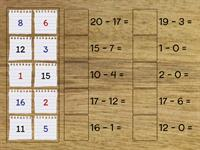 subtraction match up