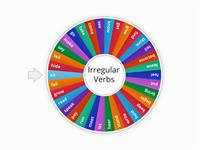 Irregular Verbs Wheel