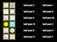 Half past time game