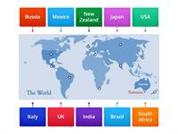 Geography world map game
