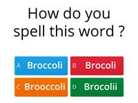 Spelling Quiz by Thomas Butter 7M