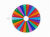 ALPHABET WHEEL - Random wheel