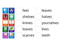 Letterland Unit 27- Plurals -lf to -ves