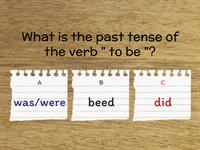 Past simple(irregular verbs)