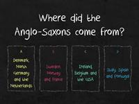 Anglo-Saxons and Vikings (Year 5 End of Topic)