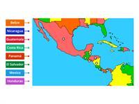 Mapa de America Central - Teaching resource