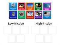 Friction card sort
