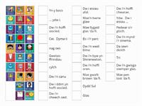 FP Welsh Oracy Match up - full set
