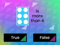 more less equal...true or false?