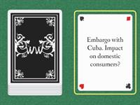 Trade Regulations Card Game