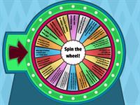 Christmas - spin the wheel