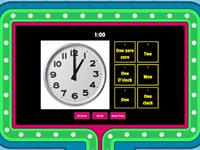 4-6. What time is it? (quiz show)