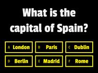 Capitals of Europe