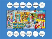 Movers Word List Picture Book Toy Shop