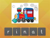 Unscramble the words year 2