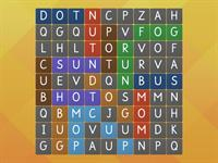 CVC phonics - find the word