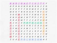 Marie Curie Word search