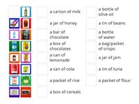 food containers 6º