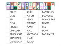 Classroom objects NC 1