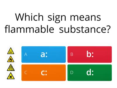 Health and safety section 12 safety signs and signals