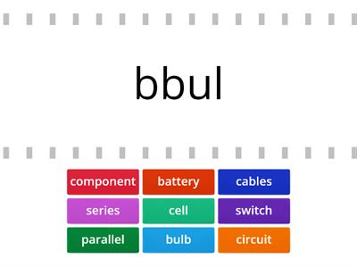 circuit word wall