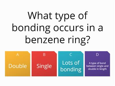 Benzene 10 question quiz