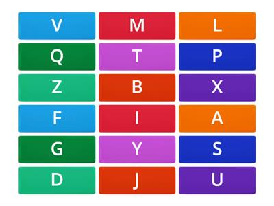 Keyboard letter rows