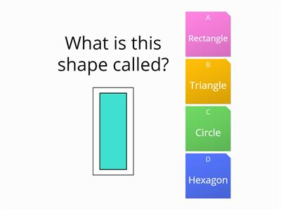 Easy Shapes area perimeter