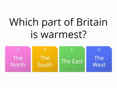 short british weather quiz