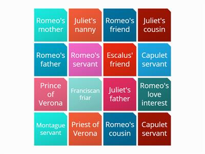 Romeo and Juliet Characters