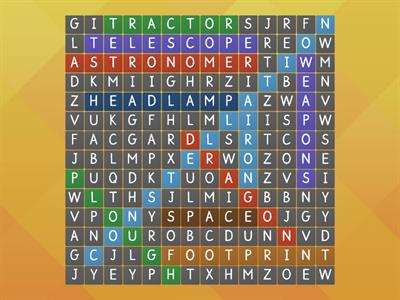 iron man wordsearch