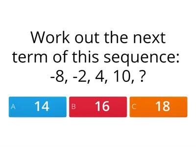 yr10 sequences