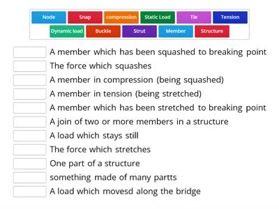structures word wall