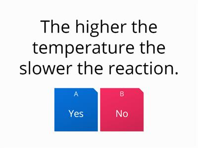 rates of reaction quiz