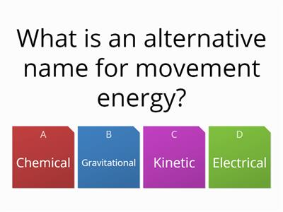 energy WW quiz