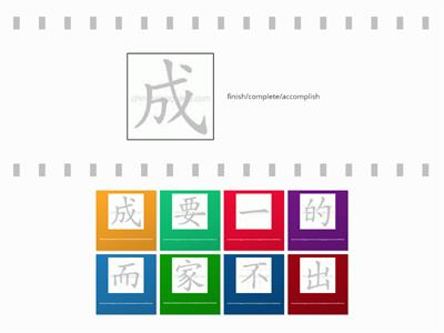 Chinese Symbols & meaning