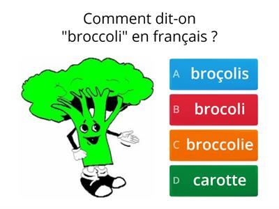 Quiz1 french