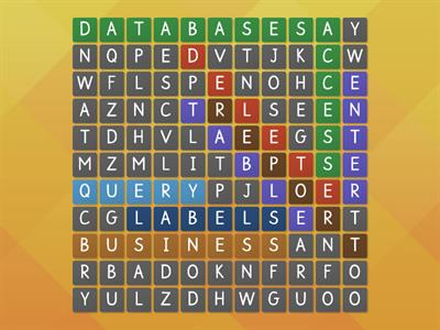 database wordsearch